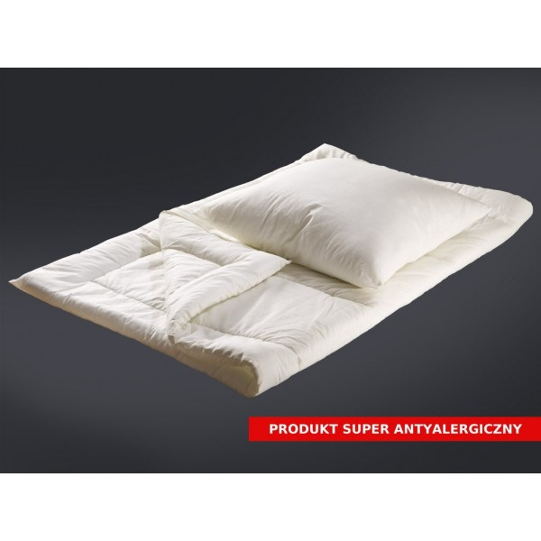 Kołdra i poduszka antyalergiczna