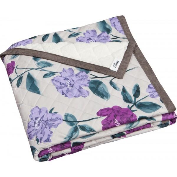 Poduszka Kwiaty Fiolet