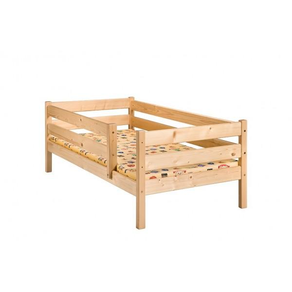 Drewniane Łóżko dziecięce 80x160 + materac PROMOCJA